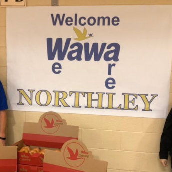 Wawa celebrates reading goals at Northley