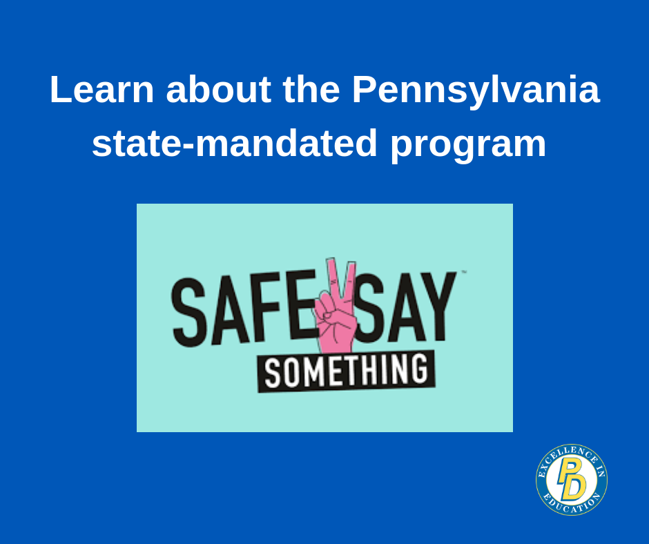 Safe2Say Something is launched in PA