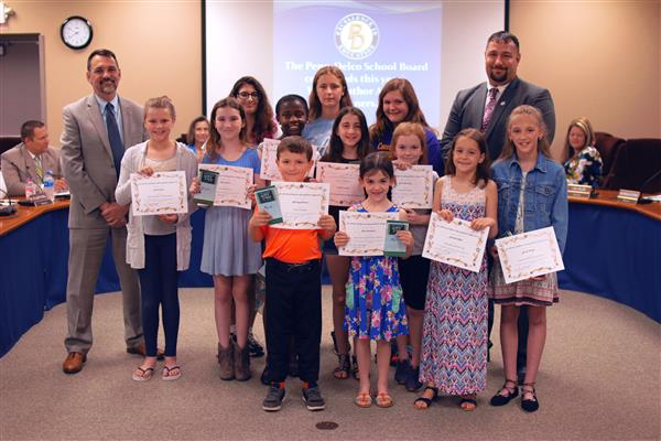 Penn-Delco Celebrates Young Authors