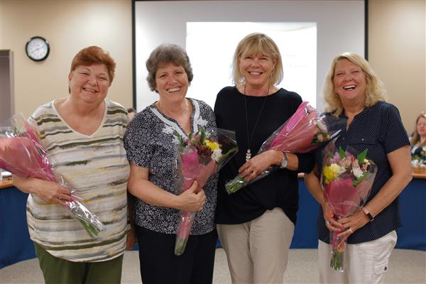 Penn-Delco Honors Retirees