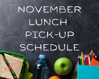 lunch pick-up schedule November