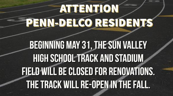 Sun Valley Track and Stadium Field Closure