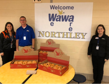 WAWA GM's celebrate at Northley