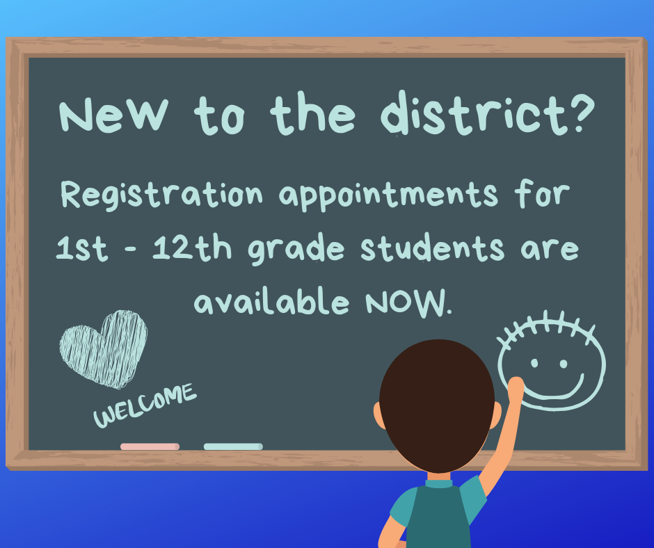 Make your registration appointment for new students to Penn-Delco
