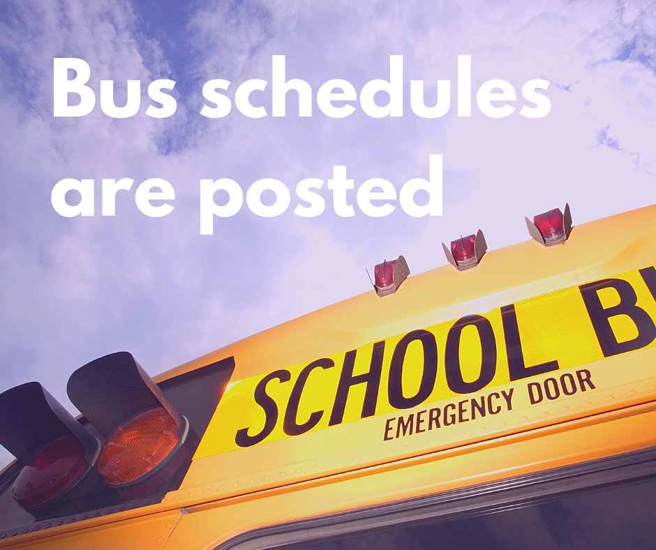 Transportation and bus schedules