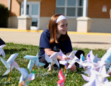 Pennell Pinwheels for Peace
