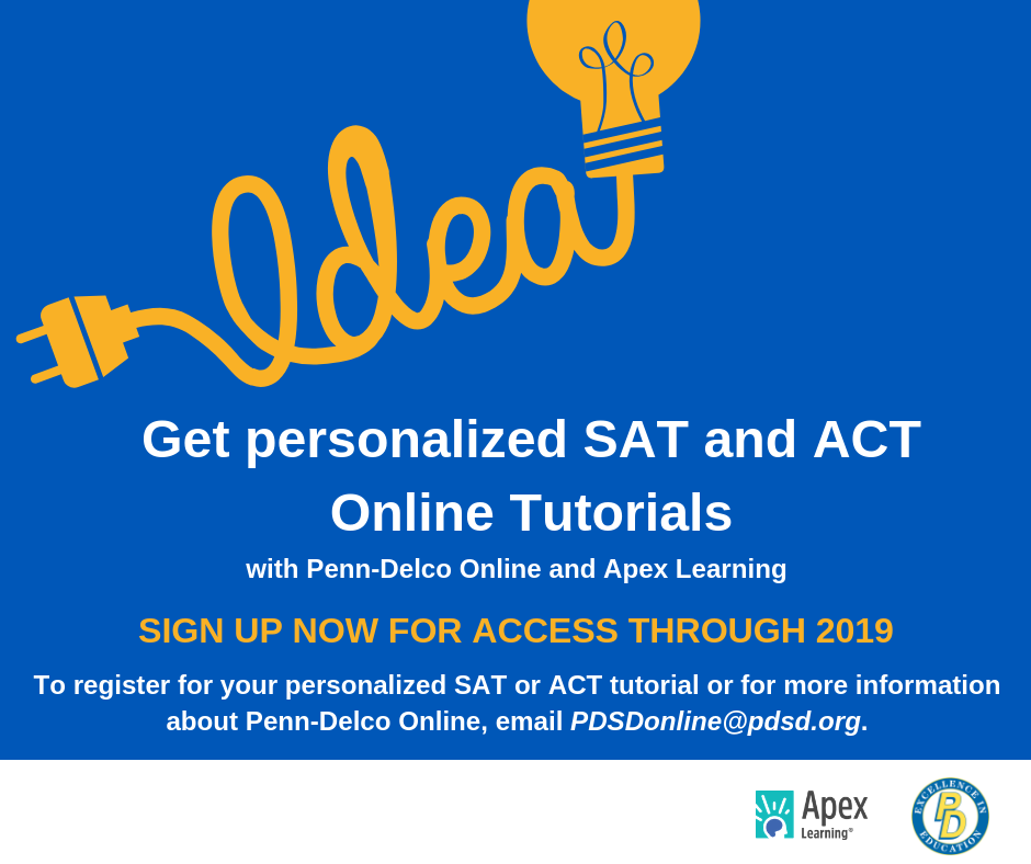 Sign up for SAT and ACT Tutorials